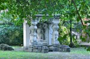 Hopp Ferenc Kelet-ázsiai Művészet Múzeum kertje Budapest