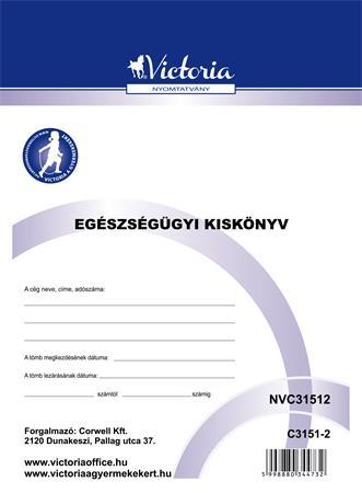 egészségügyi kiskönyv papírbolt